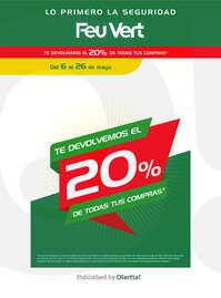 Te devolvemos el 20% de todas tus compras*