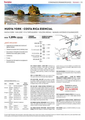 Especial Costa Rica y Panamá 20-21- Page 1
