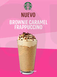 Nuevo Brownie Caramel Frappuccino 🍫