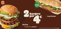 2 burgers por 4€ 🍔🍔😋