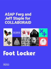 A$sap Ferg and Jeff Staple for Collarboraid