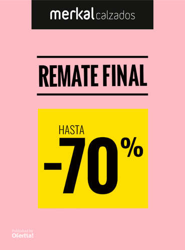 Remate final hasta -70%- Page 1
