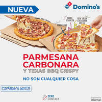 Parmesana Carbonara y Texas BBQ Crispy