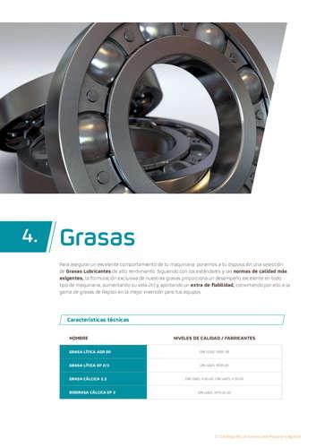 Catálogo de Lubricantes para Maquinaria Agricola- Page 1