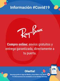 Información Ray-Ban #Covid19