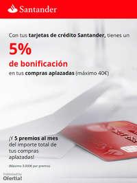 5% de bonificación