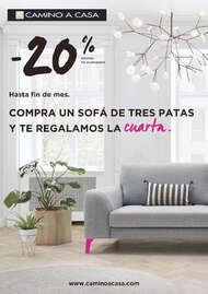 -20% Compra un sofá de tres patas y te regalamos la cuarta
