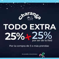 Todo extra 25% + 25% por ser de la Red