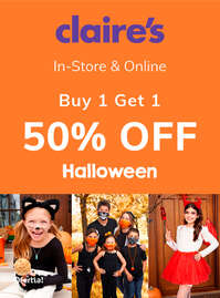 Buy 1 get 1 50% off - Halloween