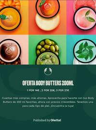 Oferta en Body Butters 200 ml 🍑✨