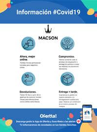 Información Macson #Covid19