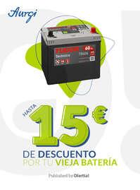 Hasta 15€ de descuento por tu vieja batería