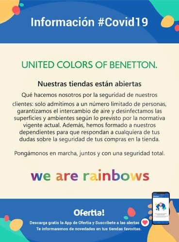 Información Benetton #covid19- Page 1
