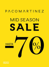 Mid Season Sale hasta -70%
