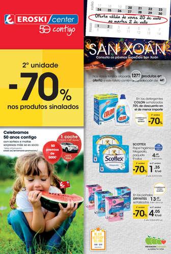 - 2ª unidade -70% en los produtos sinalados -- Page 1