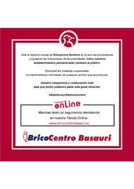 Bricocentro Informa - Basauri #EsteVirusLoParamosUnidos