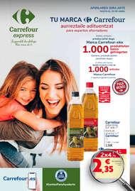 Tu marca Carrefour aurreztaile adituentzat