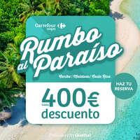 Rumbo al paraíso hasta 400€ descuento 🏝⏳