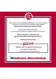 Bricocentro Informa - Almendralejo #EsteVirusLoParamosUnidos
