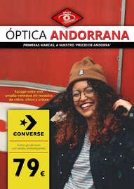 """Óptica Andorrana. Primeras marcas a nuestro """"precio de Andorra"""""""