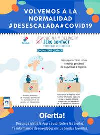 Hemos reforzado todos nuestros procesos de seguridad e higiene #Desescalada