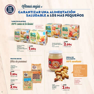 Comer mejor con Act for food- Page 1