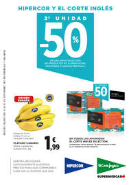 2ª unidad -50% en una gran selección de productos