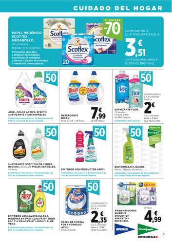 2ª unidad -50% en una gran selección de productos- Page 1