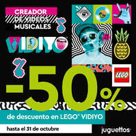 -50% de descuento en Lego Vidiyo