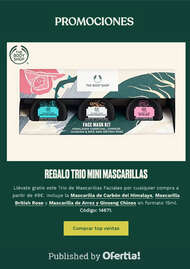 Promociones The Body Shop