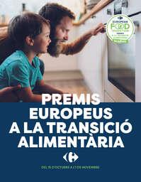 Premis europeus a la transició alimentària