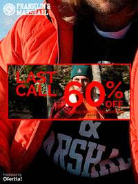 Last Call. 60% off