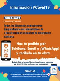 Información Bricomart #Covid19