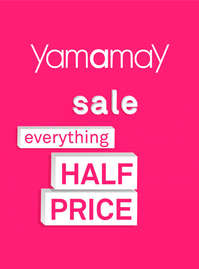 Sale. Everything half price