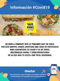 Safe Pans Protocolo de seguridad - #Covid19