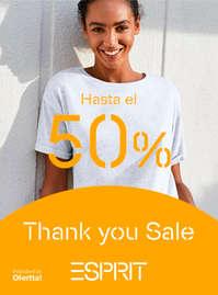Thank you Sale. Hasta el 50%