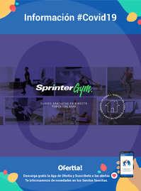 Información Sprinter-Clases gratuitas online #Covid19
