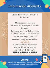 Información My Hair #Covid19
