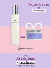 Compra un perfume y te regalamos un producto de la línea 'I love'
