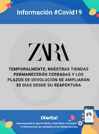 Información Zara #Covid19