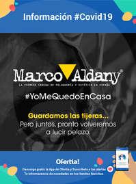 Información Marco Aldany #Covid19