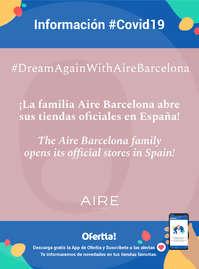 Información Aire Barcelona #covid19