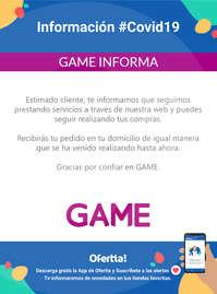 Información Game #Covid19