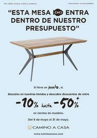 """""""Esta mesa entra dentro de nuestro presupuesto"""""""