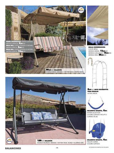Especial mueble de jardín - Arousa- Page 1