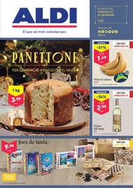 Panettone per començar a endolcir el nadal