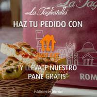 Haz tu pedido con Just Eat y llévate nuestro pane gratis* 😋