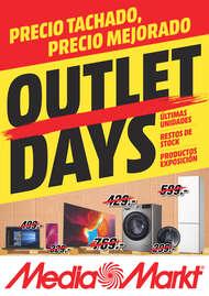 Outlet Days, precio tachado, precio mejorado