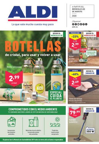 Botellas de cristal, para usar y volver a usar- Page 1