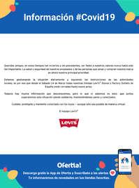 Información Levi's #Covid19
